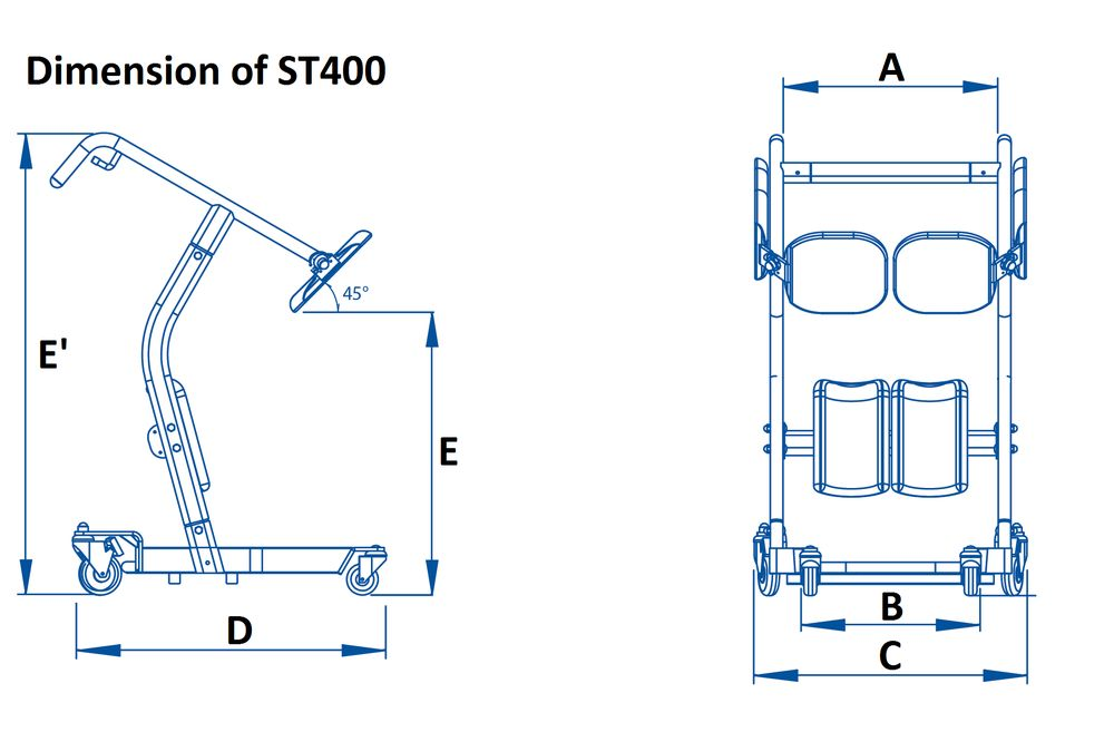 St400 Standing Transfer Aid Of Bestcare